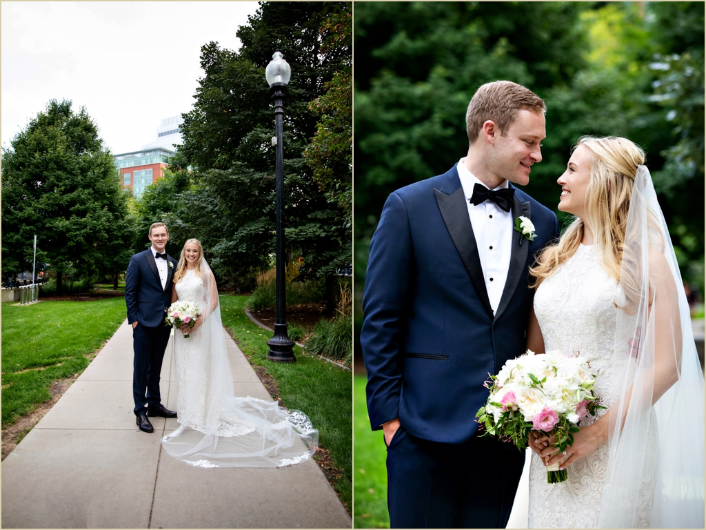 Boston Wedding Rose Kennedy Greenway