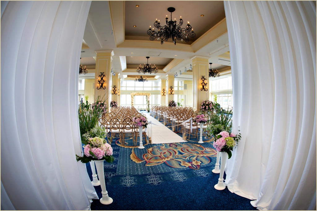 Boston Harbor Hotel Wharf Room Wedding Ceremony