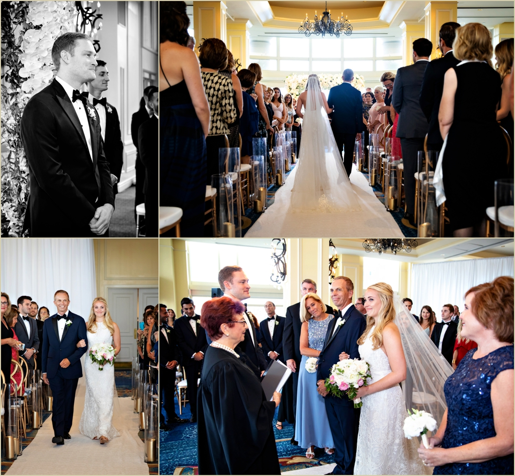Boston Harbor Hotel Wedding Ceremony