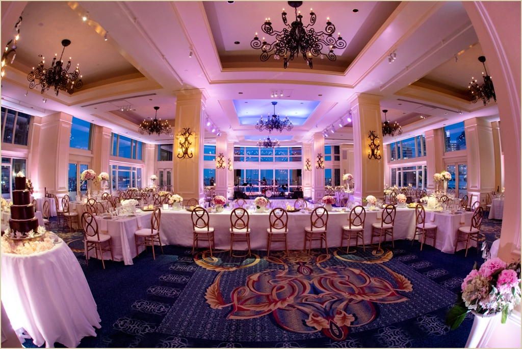 Boston Harbor Hotel Wharf Room Wedding