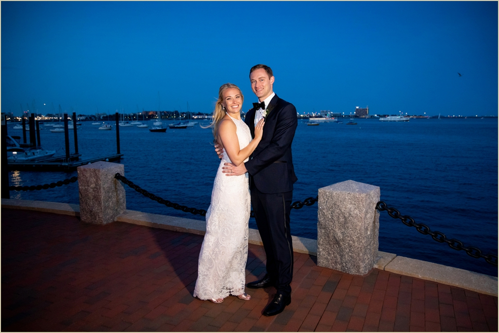 Harbor Wedding Boston Harbor Hotel