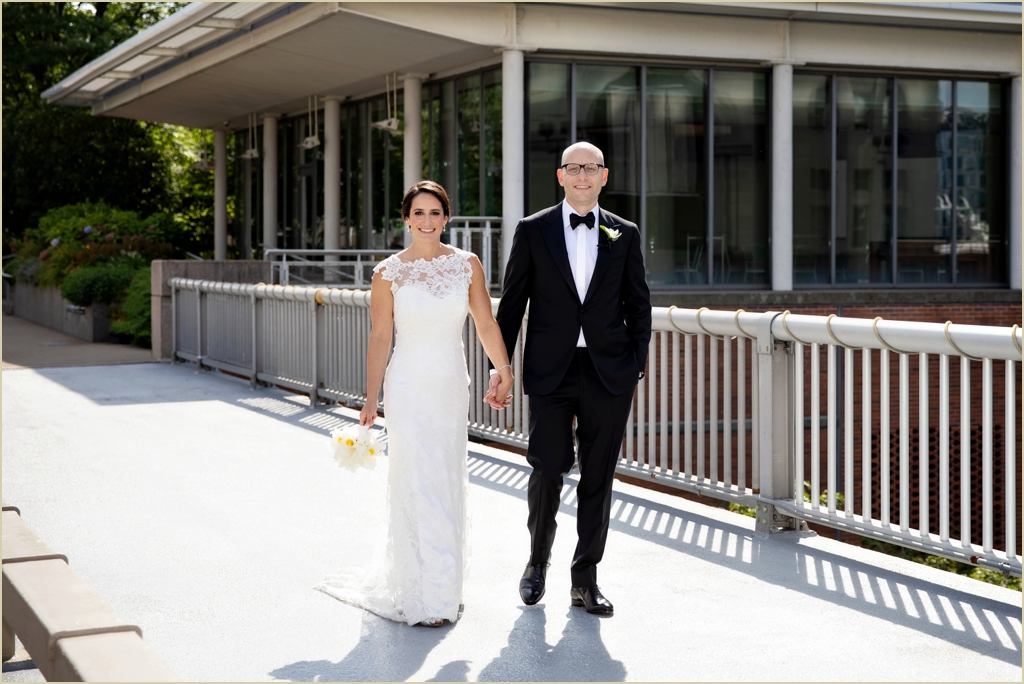 JFK Presidential Library Boston Seaport Wedding