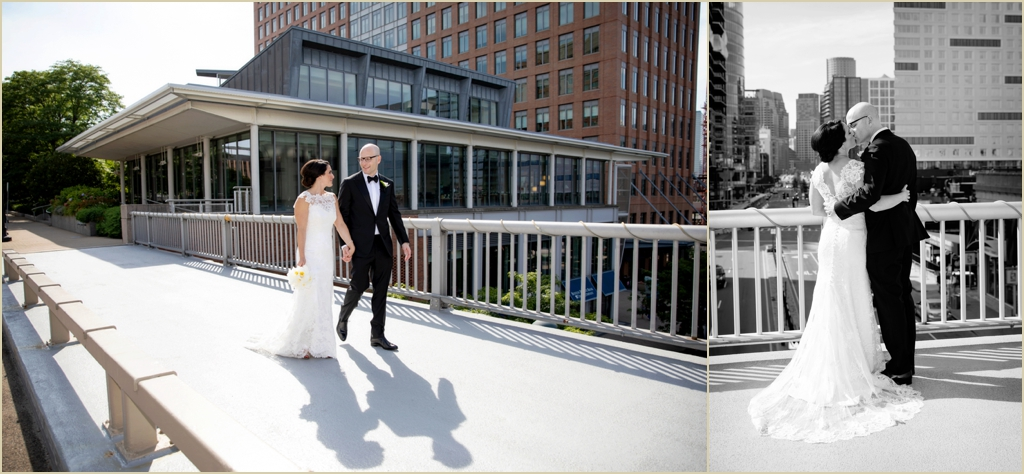 Boston Seaport JFK Presidential Library Wedding
