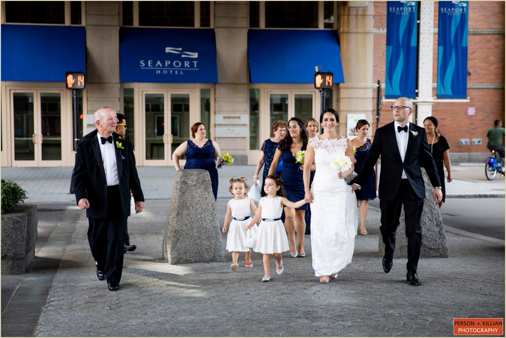 Seaport Hotel Boston Summer Wedding