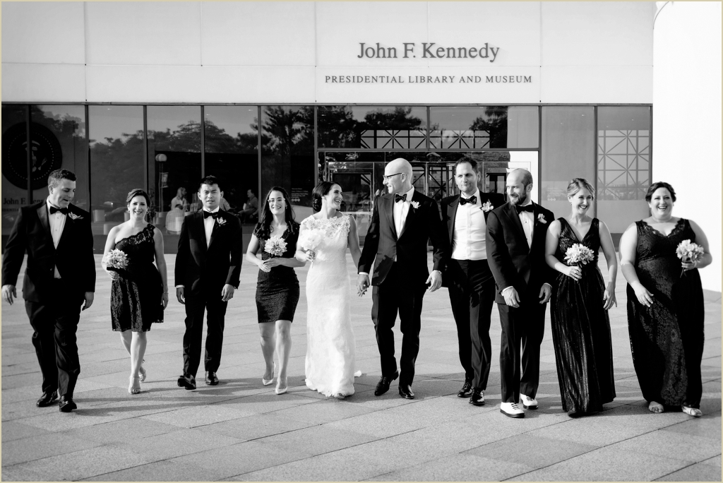 JFK Presidential Library Wedding Photography
