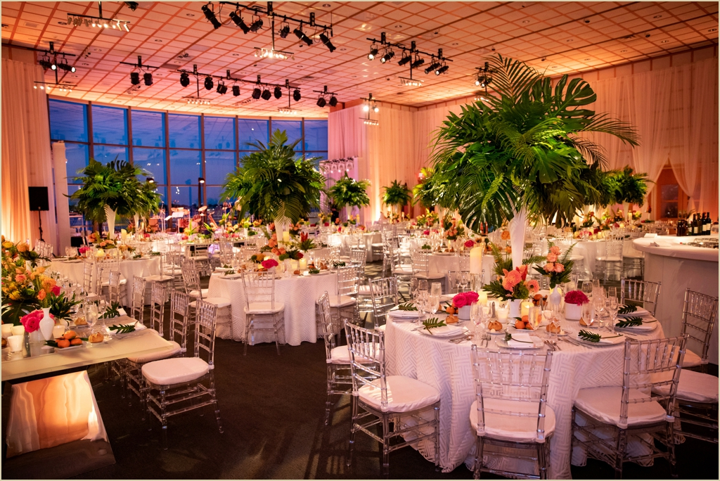 Modern Summer Wedding JFK Presidential Library Boston