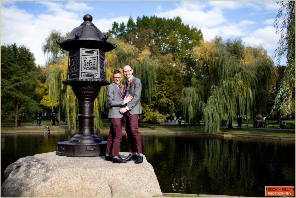 Wedding Photography Boston Public Garden