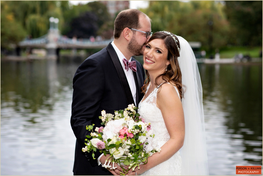 Boston Public Garden Wedding Photography