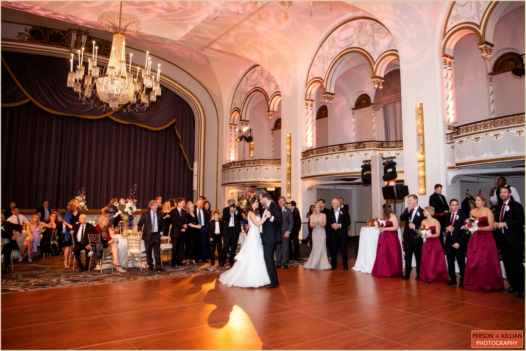Boston Park Plaza Fall Wedding
