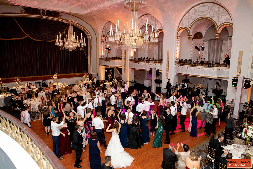 Fall Wedding Boston Park Plaza Ballroom