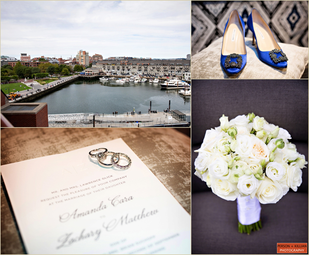 Fall Wedding Boston Marriott Long Wharf