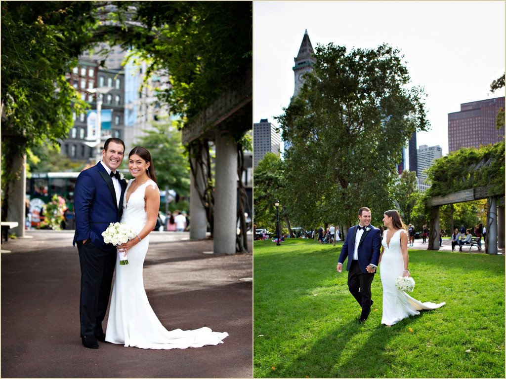 Boston Marriott Long Wharf Columbus Park Wedding