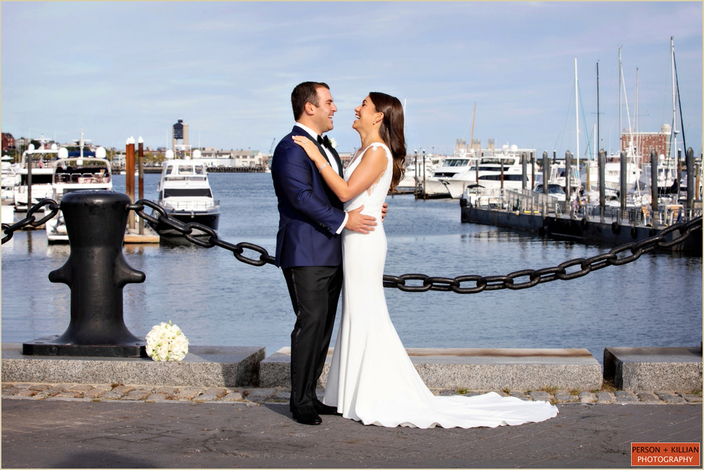 Boston Seaport Wedding Boston Marriott Long Wharf
