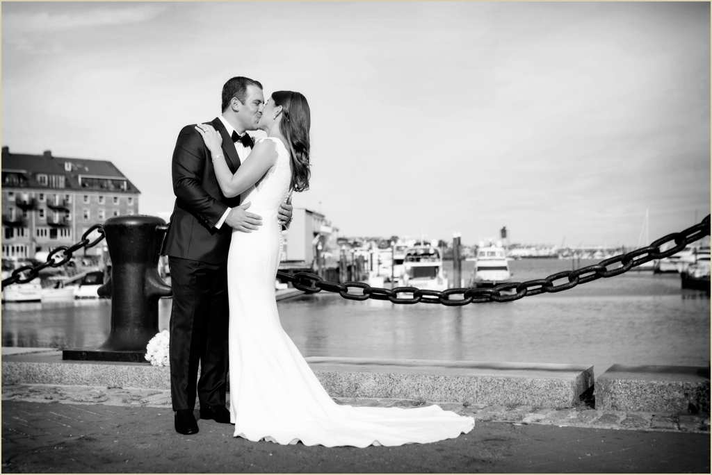 Waterfront Wedding Boston Marriott Long Wharf