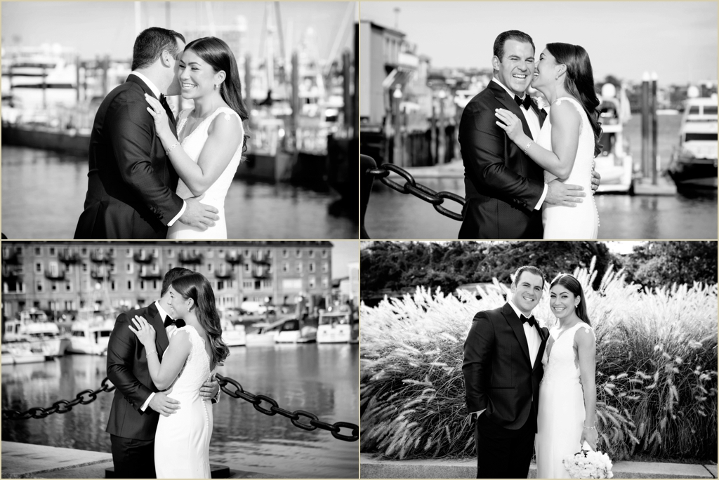 Boston Harbor Wedding Boston Marriott Long Wharf