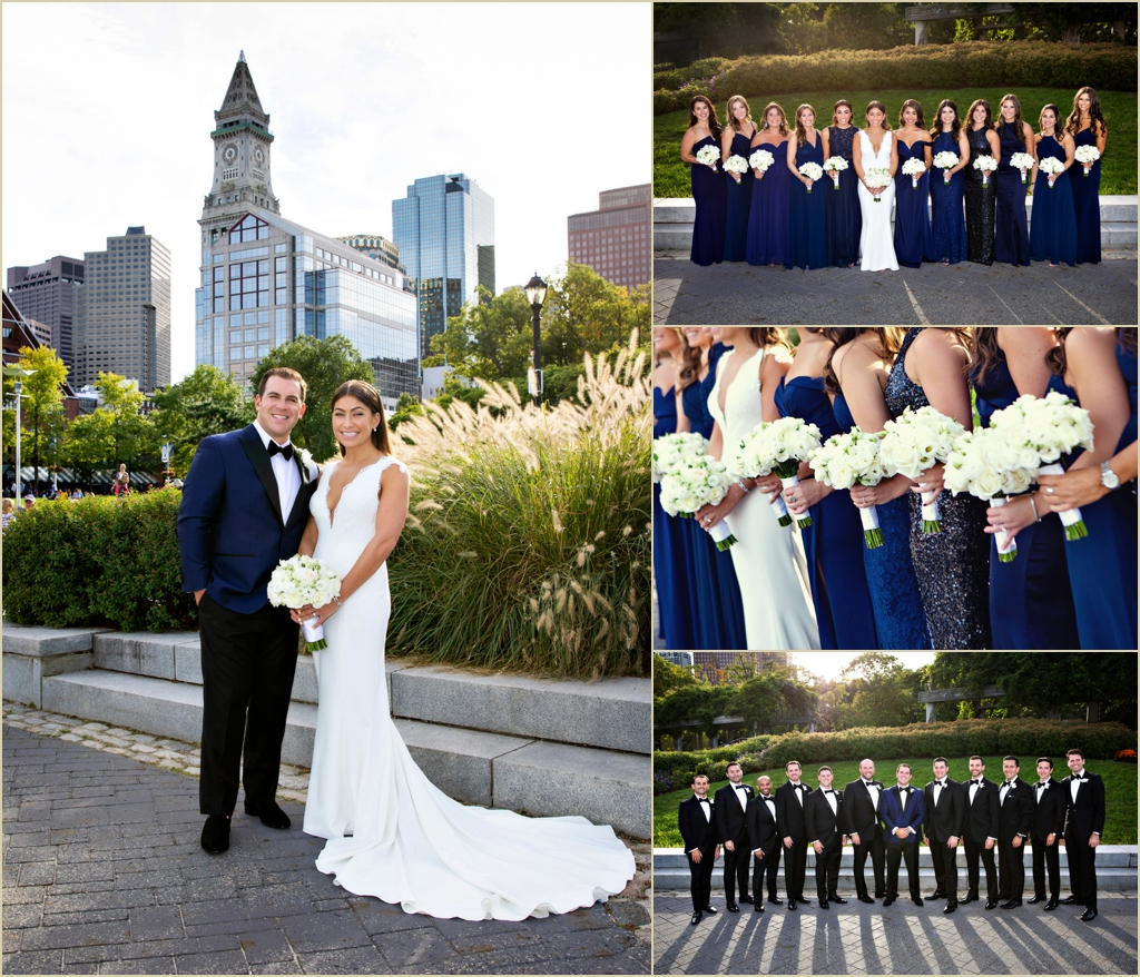Columbus Park Boston Fall Wedding