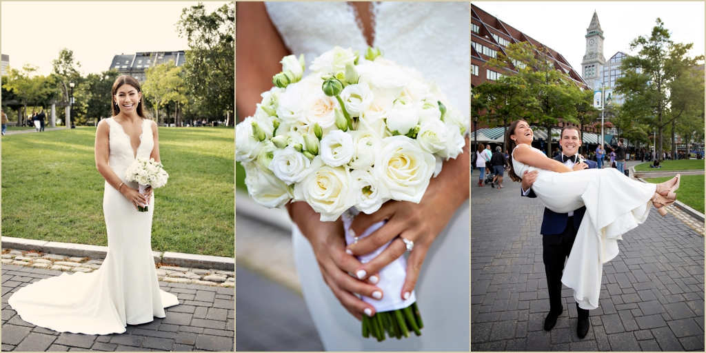 Columbus Park Boston Marriott Long Wharf Wedding