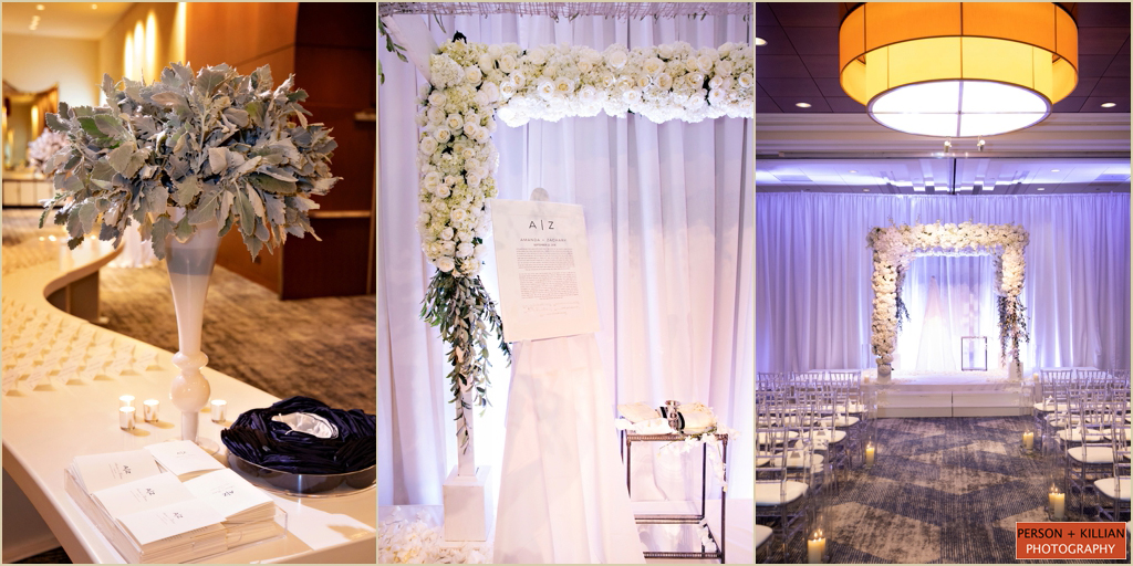 Boston Marriott Long Wharf Ballroom Wedding Ceremony