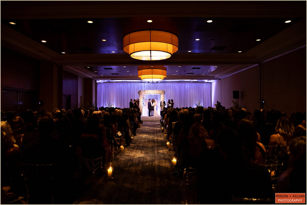 Boston Marriott Long Wharf Ballroom Wedding
