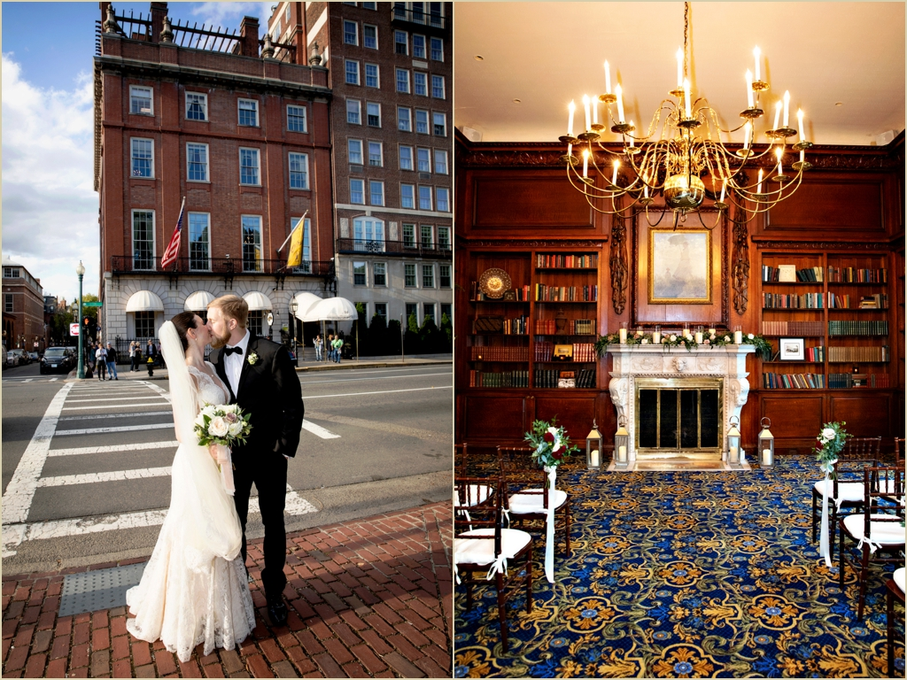 Hampshire House Boston Wedding Venue