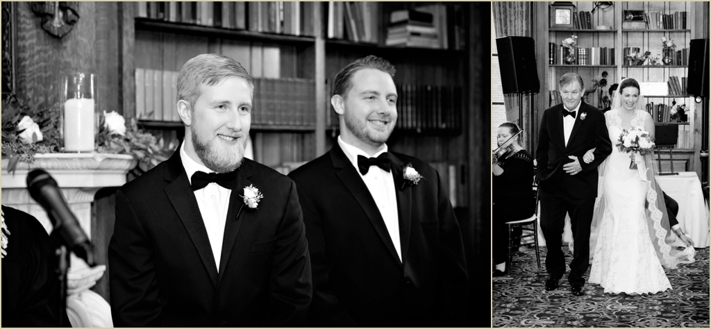 Hampshire House Boston Wedding Ceremony