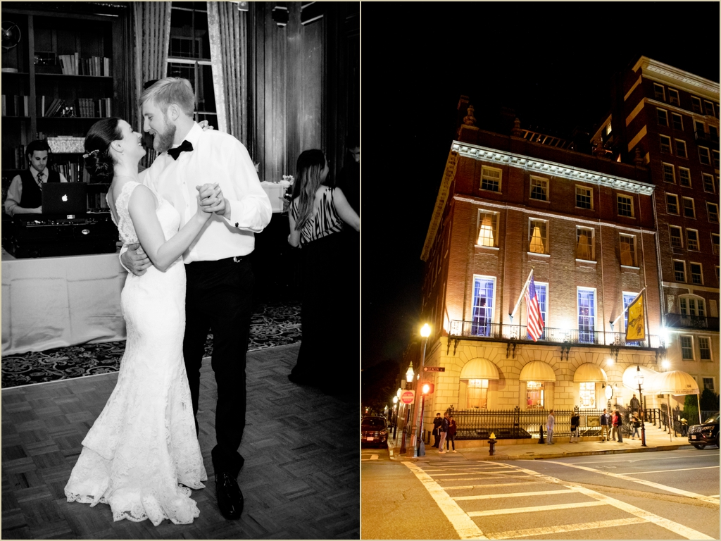 Downtown Boston Wedding Venue Hampshire House