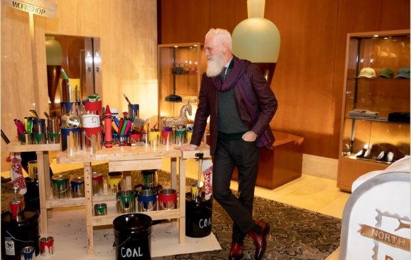 Fashion Santa Charity Event at the Ritz-Carlton Boston