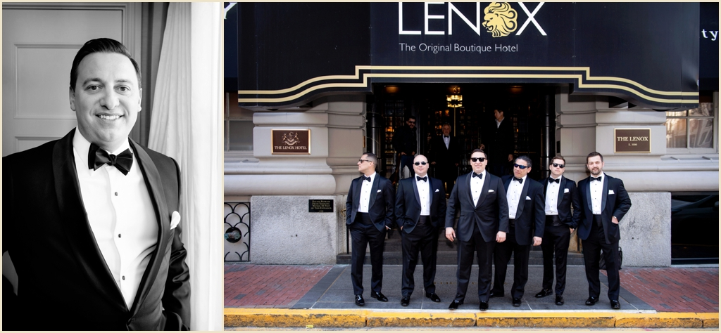 Lenox Hotel Boston Winter Wedding