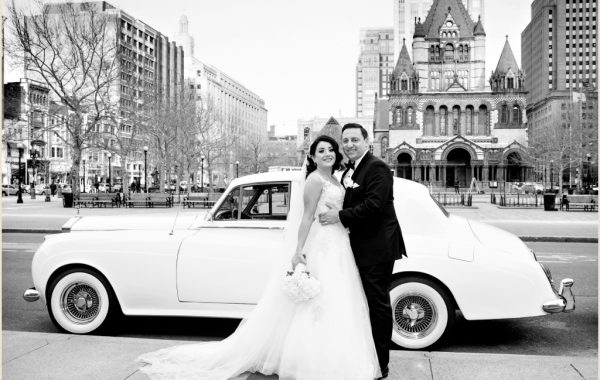 Boston Winter Wedding at The Lenox Hotel