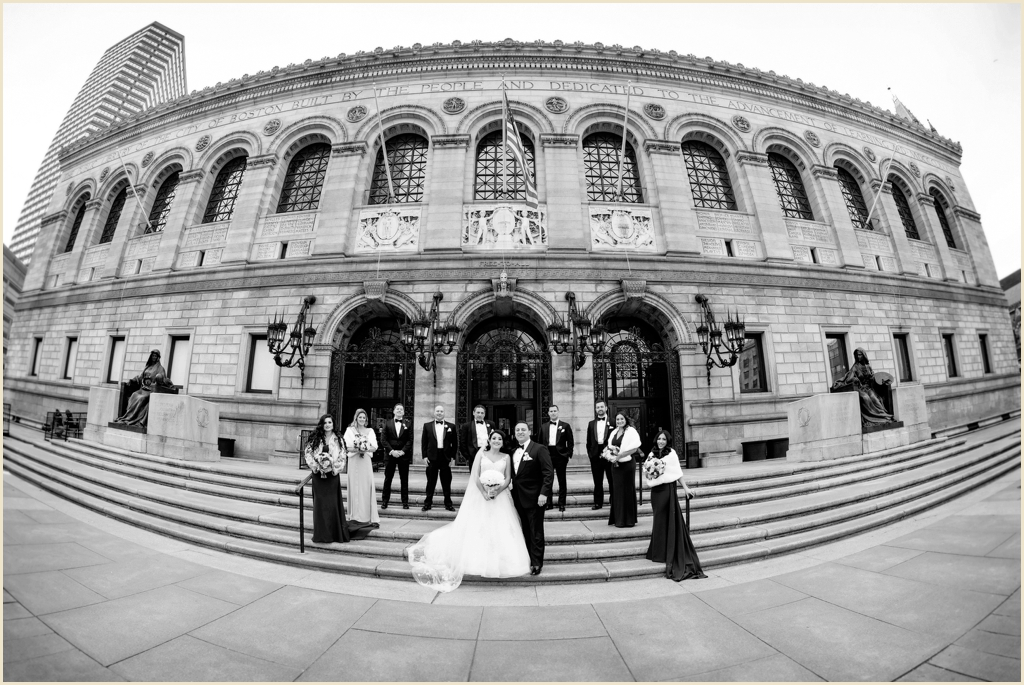 Boston Public Library Copley Square Wedding