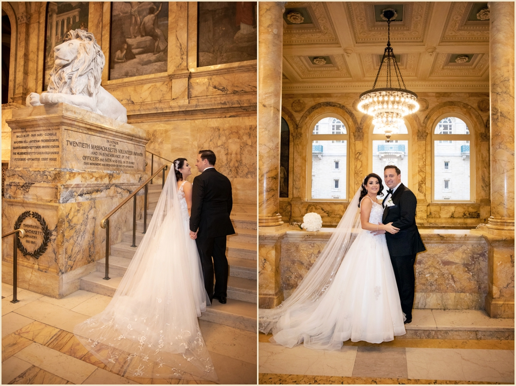 Copley Square Wedding Boston Public Library