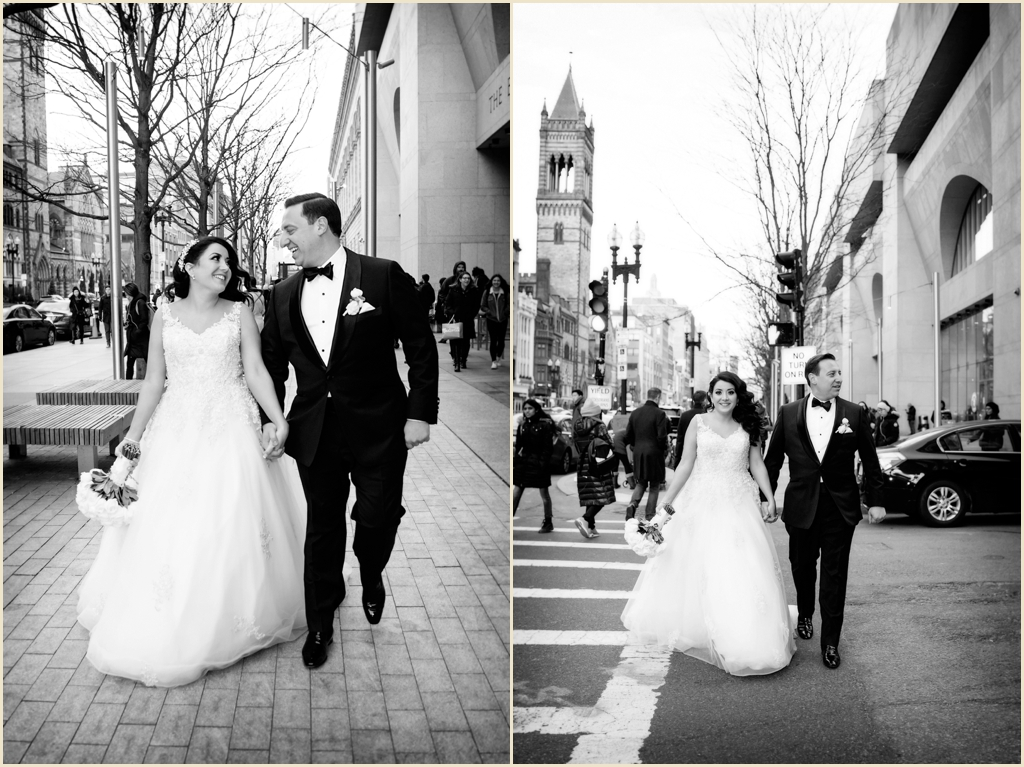 Copley Square Winter Wedding Boston