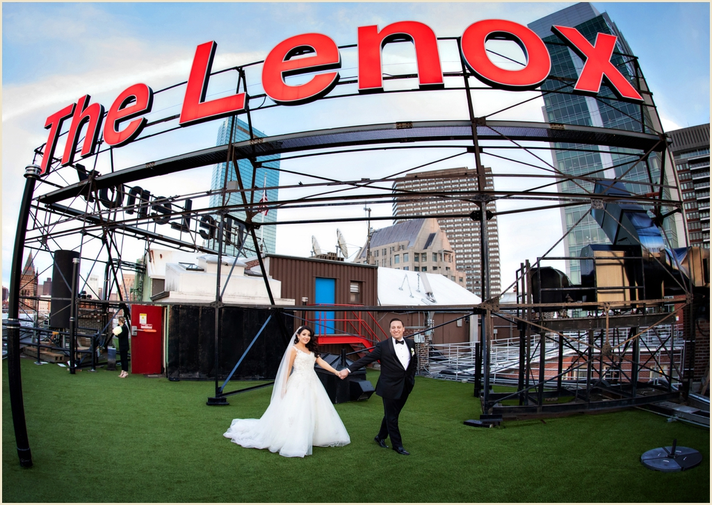 The Lenox Hotel Rooftop Wedding Boston
