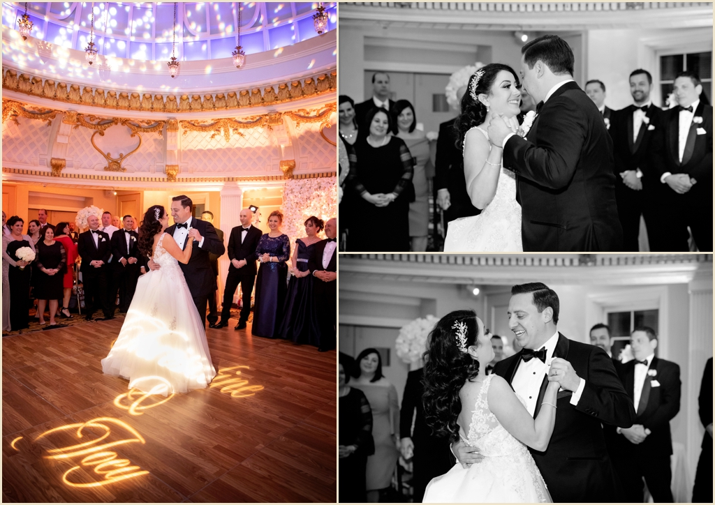 Elegant Winter Wedding Boston Lenox Hotel