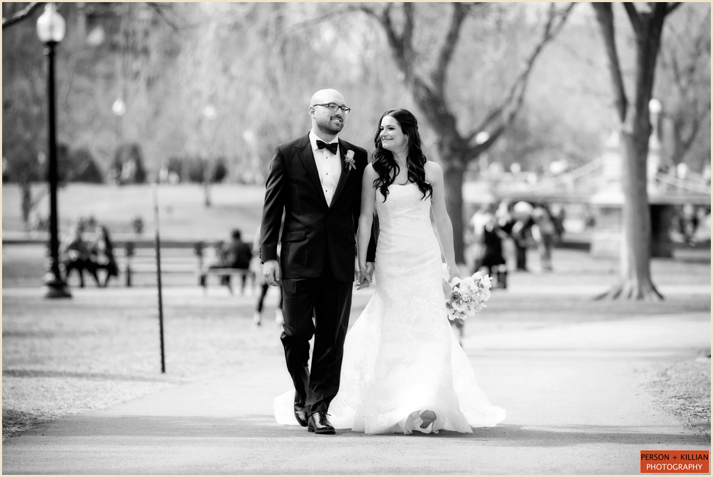 Boston Public Garden Wedding Photographer