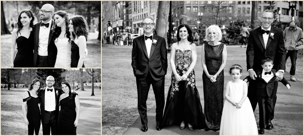 Spring Wedding Boston Public Garden Photography