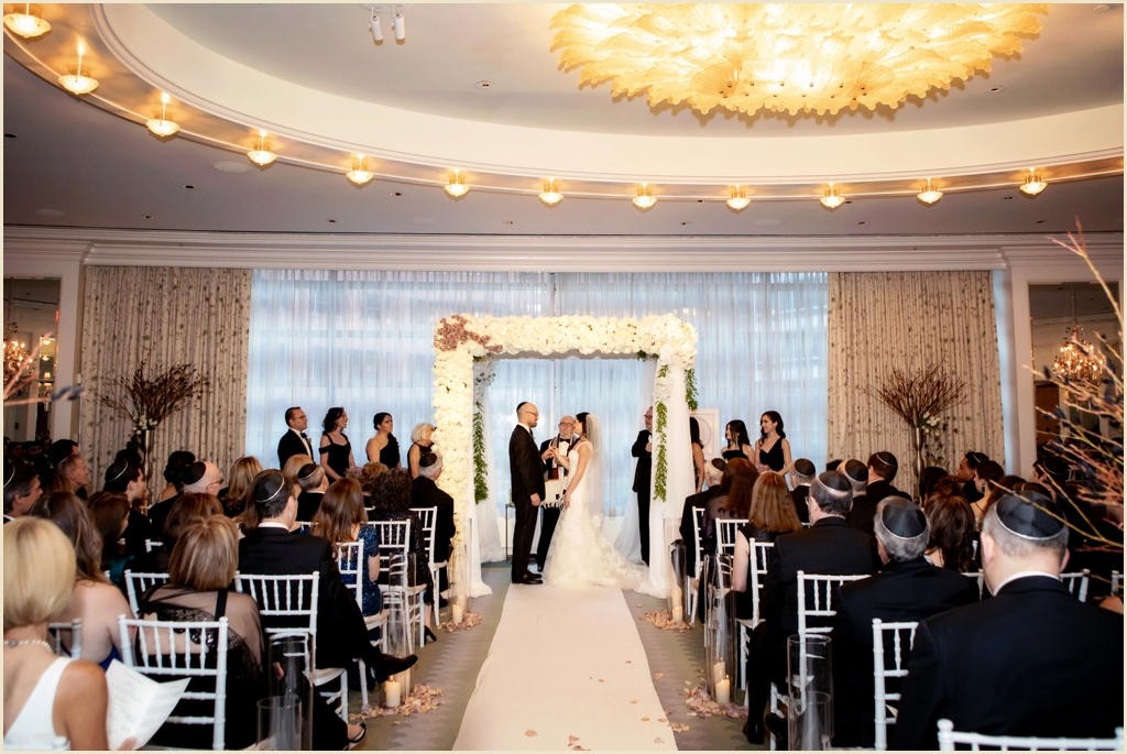 Jewish Wedding Ceremony Four Seasons Hotel Boston