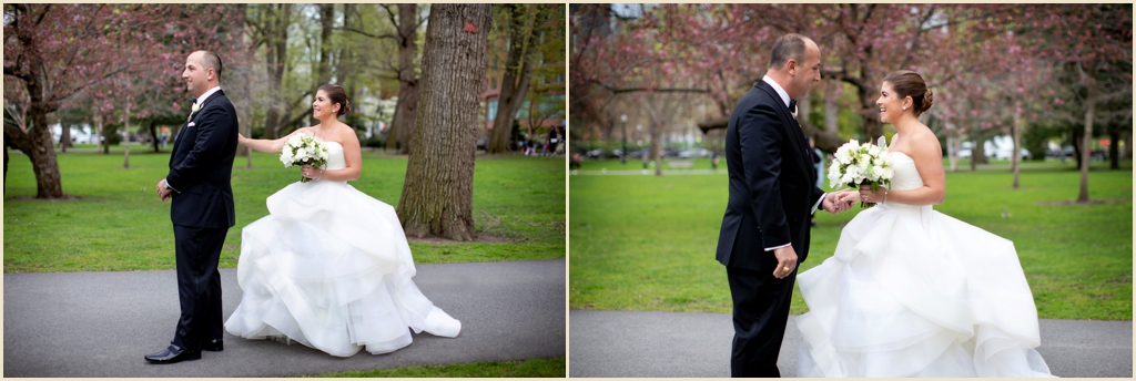 Spring Wedding Boston Public Garden