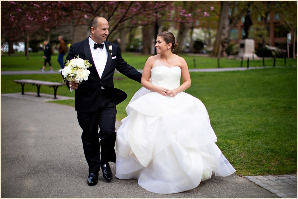 Spring Wedding Photography Boston Public Garden