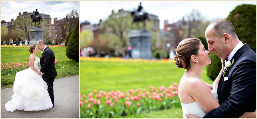 Boston Public Garden Spring Wedding Photography