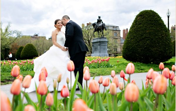Four Seasons Boston Spring Ballroom Wedding