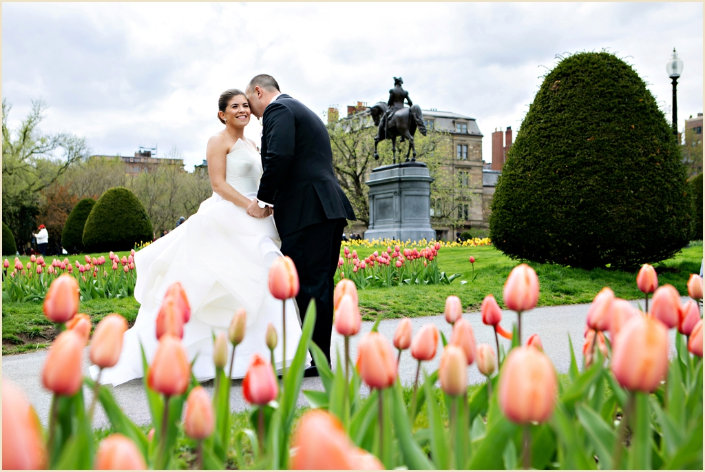 Four Seasons Boston Spring Wedding