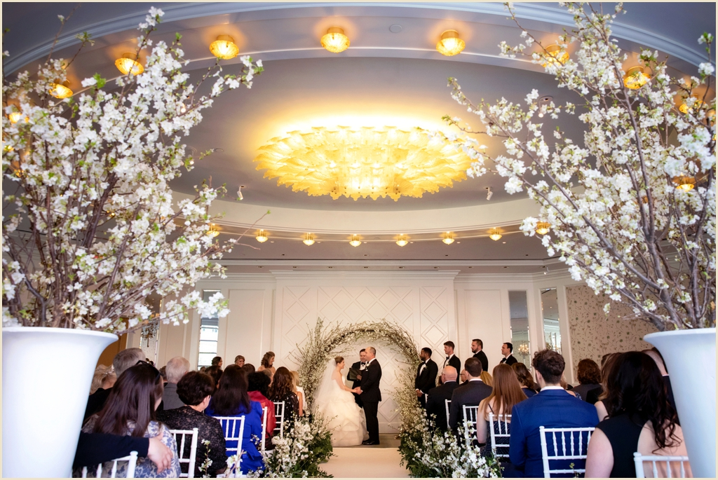 Wedding Ceremony Four Seasons Boston Governors Room