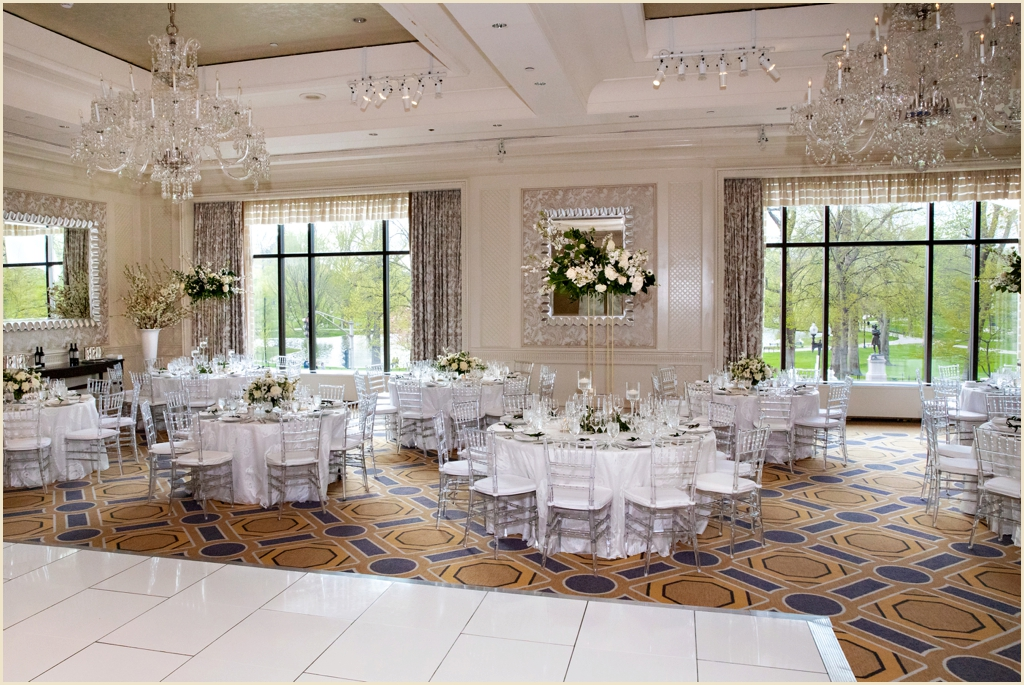 Four Seasons Boston Ballroom Spring Wedding