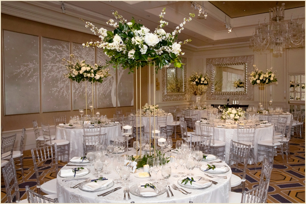 Four Seasons Boston Ballroom Wedding Spring