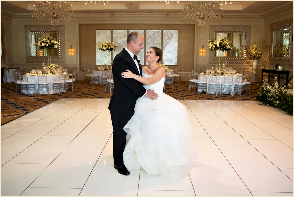 Four Seasons Boston Ballroom Wedding