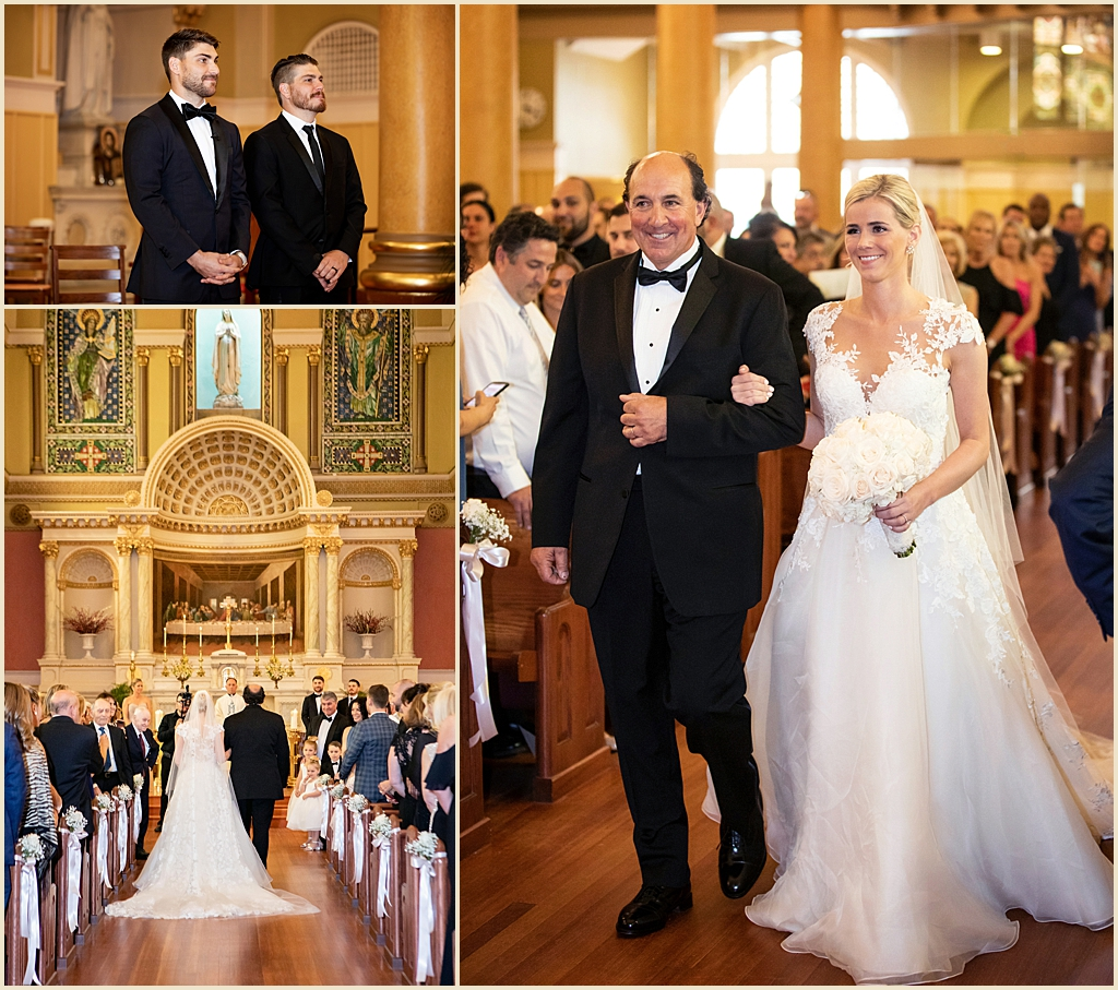 St Cecilia Catholic Church Boston Wedding