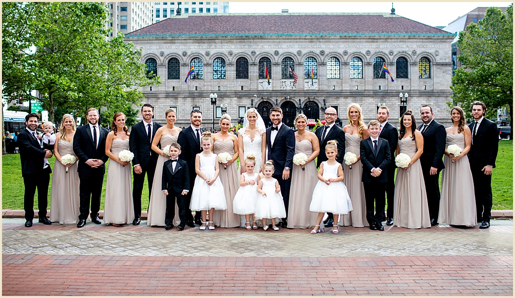 Fairmont Copley Plaza Boston Copley Square wedding