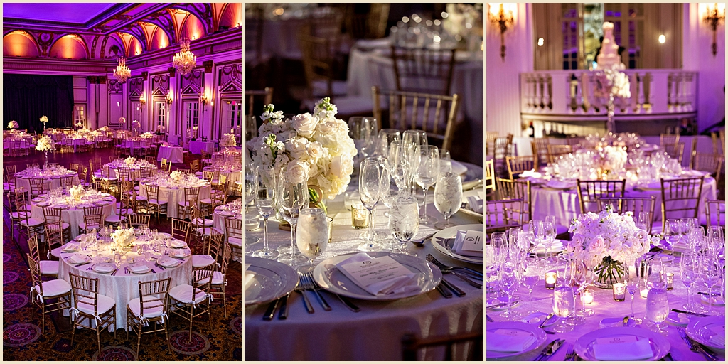 Classic chic wedding Fairmont Copley Plaza Boston