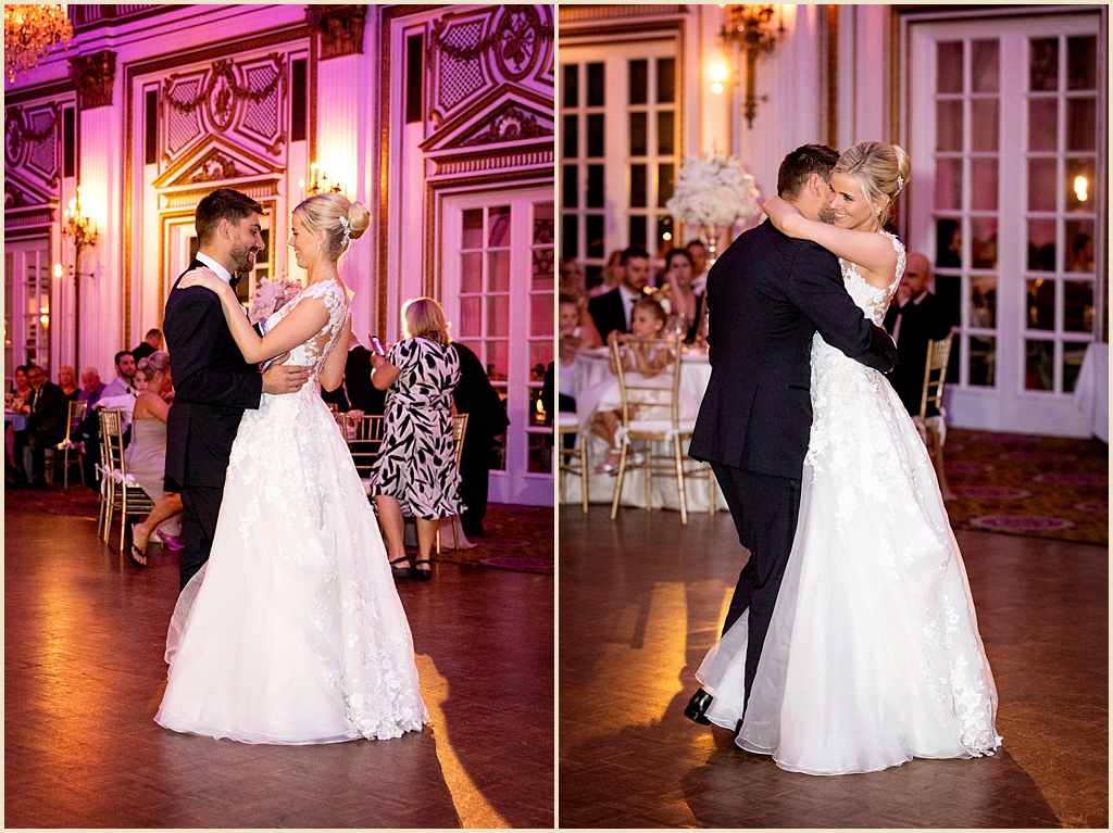 Boston Summer Wedding Fairmont Copley Plaza Ballroom